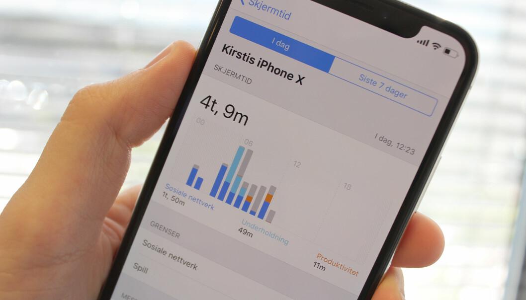 Apple kan ikke hjelpe oss å kurere mobilavhengighet