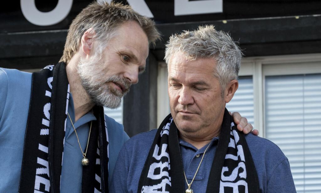 TIL SAK?: Kåre Ingebrigtsen(t.h.) og Erik Hoftun fikk sparken som RBK-trenere i sommer. Nå kan de gå til sak mot gamleklubben. Foto: Ned Alley / NTB scanpix