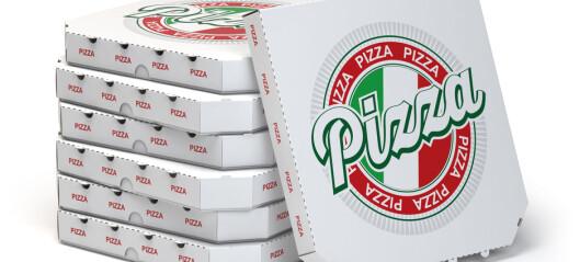 Da flyet ble forsinket, ringte kapteinen nærmeste restaurant og bestilte 40 pizzaer