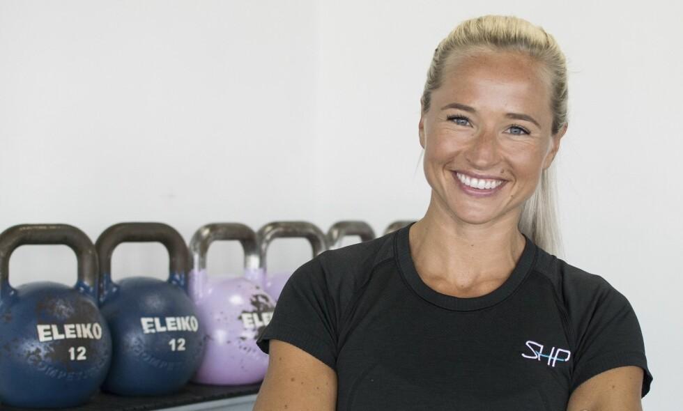 INGER HOUGHTON: Vi har stilt Inger Houghton 6 kjappe spørsmål om trening og motivasjon. FOTO: Privat