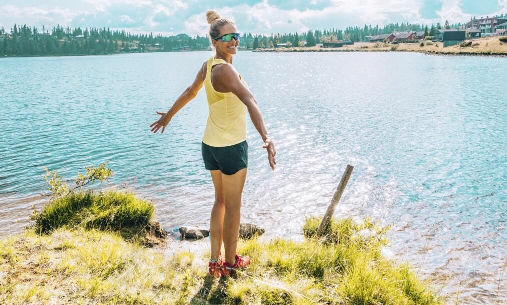 CAMILLA AASTORP ANDERSEN: Camilla, eller «Treningsfrue» som hun er mest kjent som, er en supersprek tobarnsmamma som lever etter mottoet «litt av alt og alt med måte». Hun driver bloggen treningsfrue.no og har en Instagram-konto under samme navn med hele 117 000 følgere. FOTO: Privat