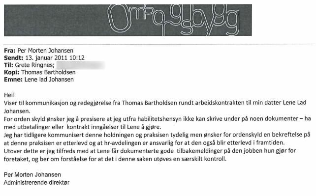 image: Kommunetoppens datter fikk jobber uten å søke:Ble spydspiss for unik satsing i stillinger som ikke var lyst ut
