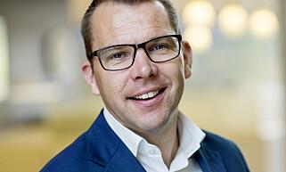 KRAFTSJEF. Steffen Syvertsen, konserndirektør i Agder Energi. Foto: Agder Energi