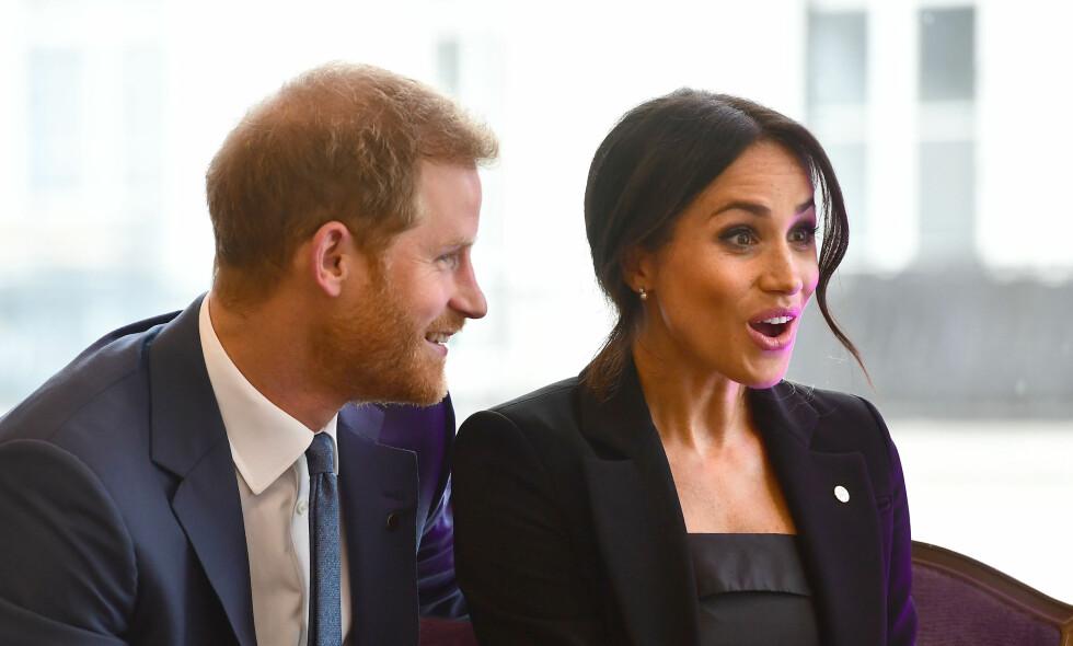HERTUGINNE: Meghan har gått inn i en ny rolle siden hun giftet seg med prins Harry, men er fremdeles seg selv lik. Foto: NTB Scanpix