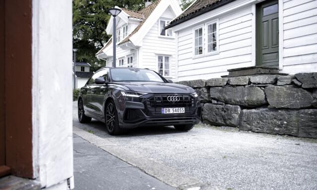Test Av Audi Q8 50 Tdi Er Den Verdt Ventetida Dinside