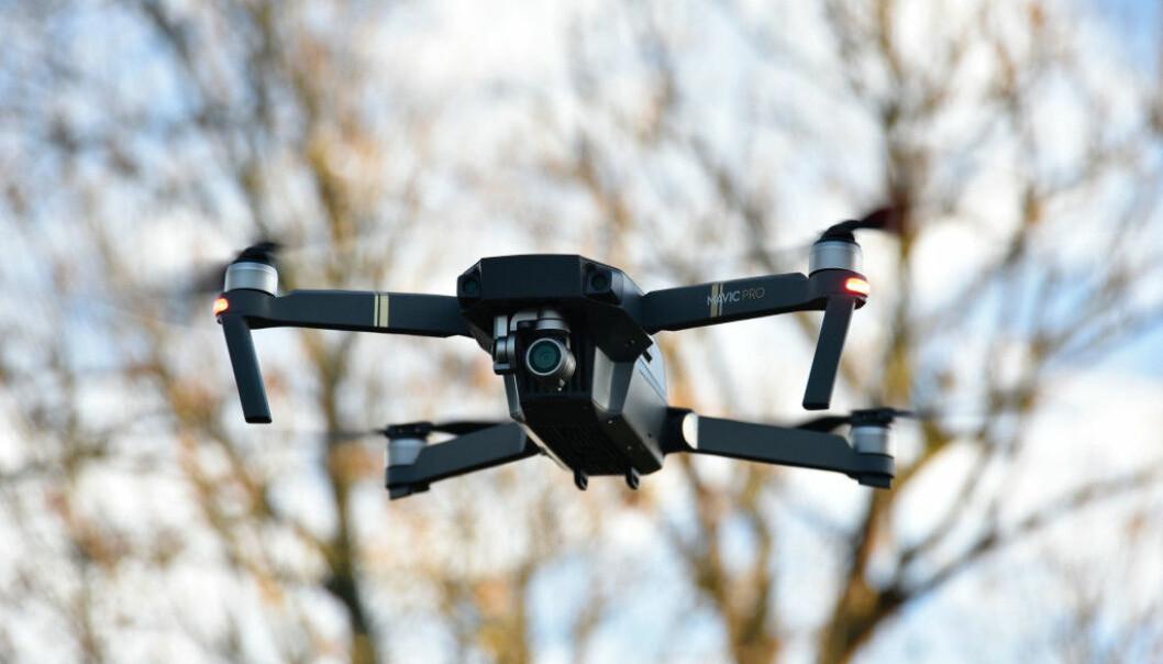 <strong>BESTE DRONE:</strong> DJI Mavic Pro er best i svensk test av droner. Foto: Pål Joakim Pollen