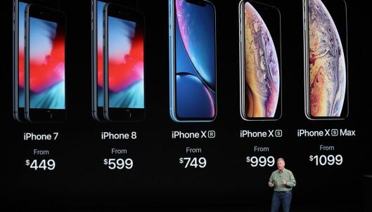 Kjøpeguide: Hvilken iPhone skal du velge?