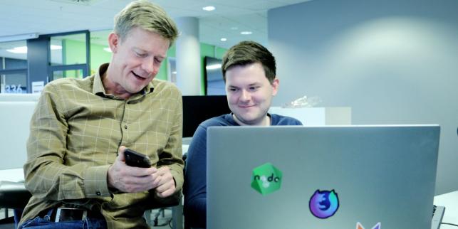 image: Valgte React Native for ny app, ferdig på fire måneder