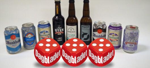 Endelig: Her er tre alkoholfrie øl som faktisk smaker godt!