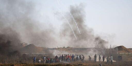 image: 14 år gammel gutt skutt og drept på Gazastripen