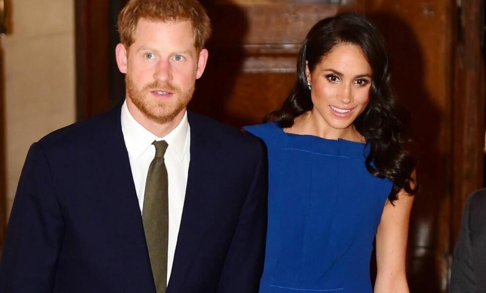 FYLLER ÅR: Prins Harry feirer i dag sin første bursdag som ektemann. Han fyller 34 år, og feirer utvilsomt dagen med sin utkårede, hertuginne Meghan. Foto: NTB scanpix