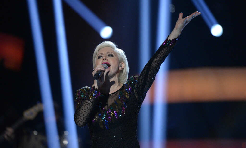 REISER HJEM: Hilde Louise Asbjørnsen må reise hjem etter kveldens konkurranse. Foto: John T. Pedersen / Dagbladet