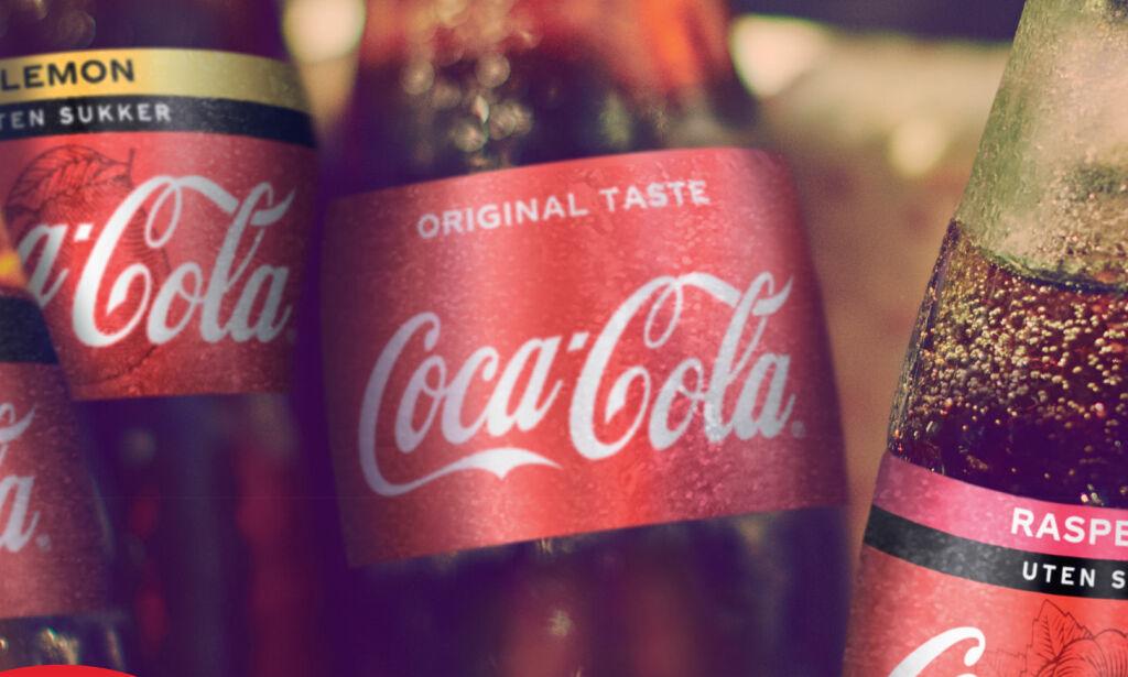 image: Nå kommer Cola med ny smak