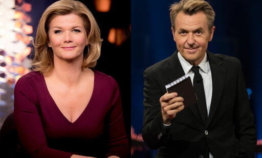 DUELL: Anne Lindmo og NRK vant talkshowduellen mot Fredrik Skavlan og TV 2.