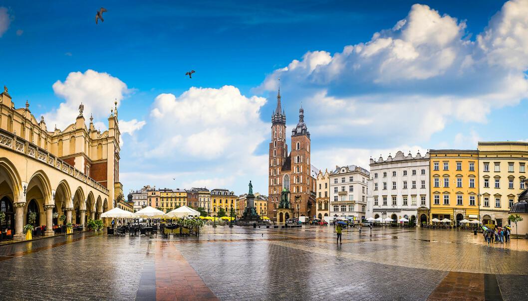 KRAKÓW: Vi har meldt oss på en guidet mattur i det som etter hvert er blitt nordmenns favorittby i Polen. FOTO: NTB Scanpix /Poland Tourism / Torild Moland