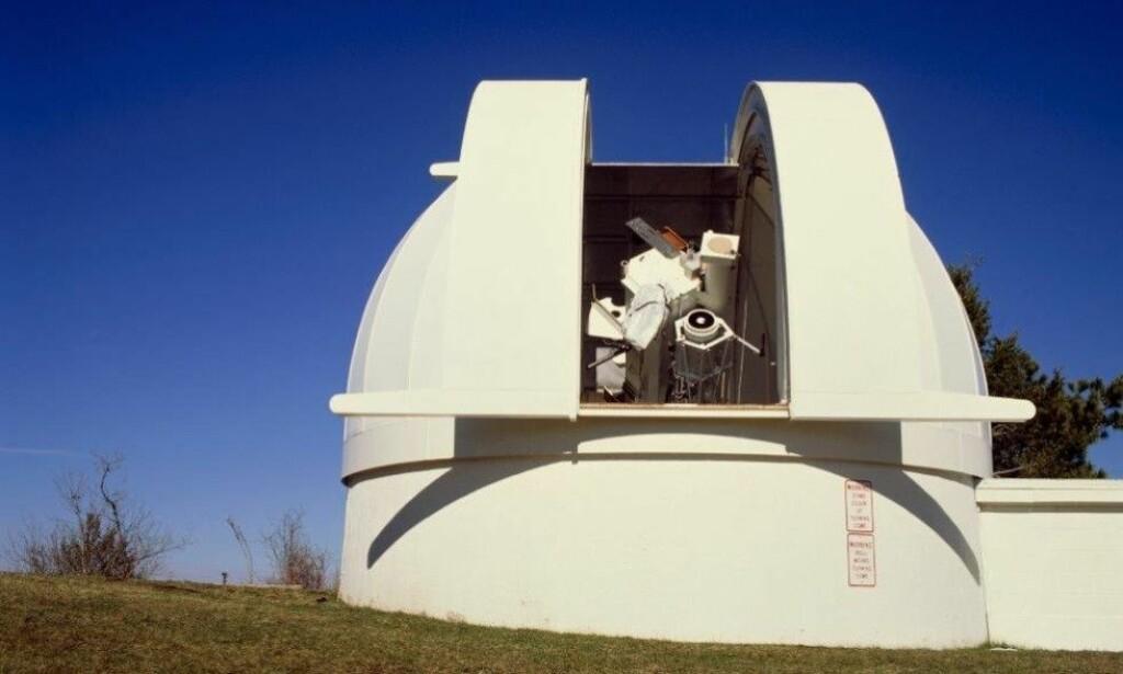 GJENÅPNER - MEN FORTSATT MYSTISK: Selv om solobservatoriet i New Mexico ble gjenåpnet mandag med verdens mest avanserte solkikkert, er det fortsatt et mysterium hvorfor FBI evakuerte og stengte i ti dager. Foto: Science Photo Library.