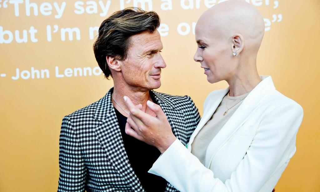 SAMMEN: Petter og Gunhild Stordalen har stått sammen gjennom hele sykdomsforløpet. Foto: Nina Hansen / Dagbladet