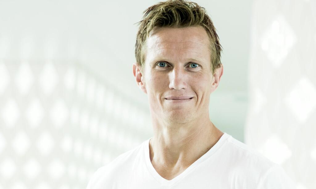 BITTER: Frank Løke (38) viser ingen tegn til ydmykhet dagen etter han ble kastet ut av «Skal vi danse». Foto: Berit Roald / NTB scanpix
