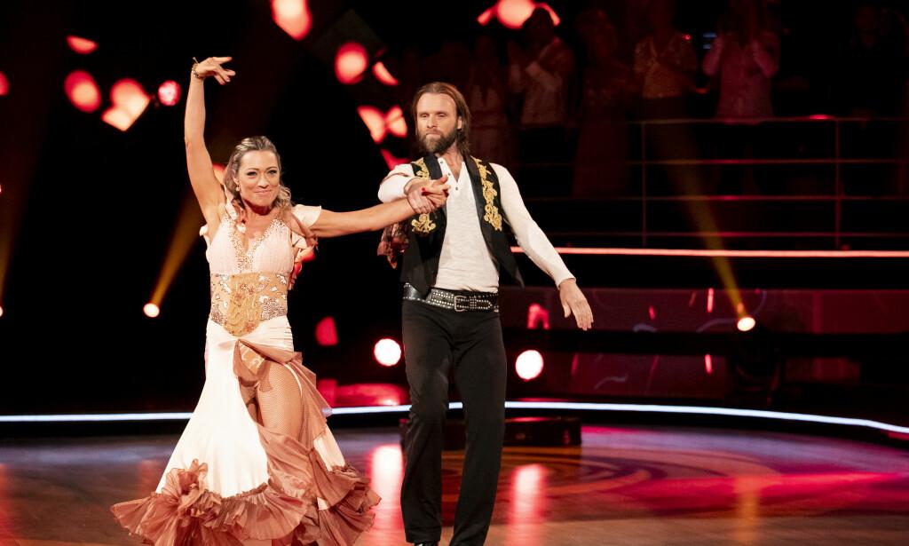 TILBAKE: Se og Hør erfarer at Aune Sand er tilbake i «Skal vi danse» sammen med dansepartner Eva Trela. Foto: NTB Scanpix