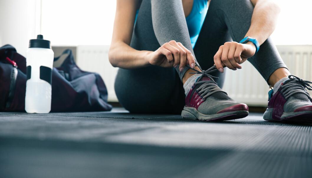 TRENING MOT SPISEFORSTYRRELSER: - Vår erfaring er at trening er et veldig godt virkemiddel i behandling av spiseforstyrrelser. Rundt halvparten ble helt friske eller friskere i prosjektet, sier Therese Fostervold Mathisen. FOTO: NTB Scanpix
