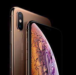 iPhone XS og iPhone XS Max er ikke nok. Også en tredje iPhone, XR, kommer i år på markedet, med en tredje skjermstørrelse. Foto: Apple