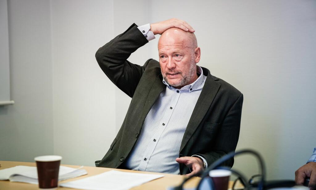 ANSVARLIG: Før helgen understreket direktør Per Morten Johansen at han er 100 % ansvarlig for alt som skjer i det kommunale foretaket Omsorgsbygg. Nå er kommunerevisjonens rapport om Omsorgsbygg klar. Foto: Øistein Norum Monsen/Dagbladet.