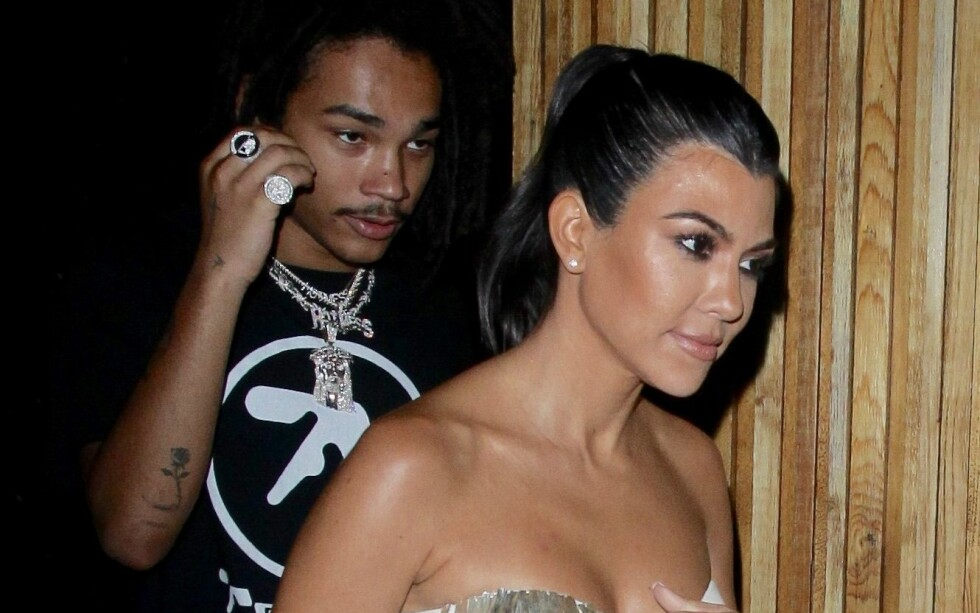 NY FLAMME: «Keeping Up With The Kardashian»-stjernen ble observert med en ny mann i Los Angeles forrige uke. Foto: NTB Scanpix