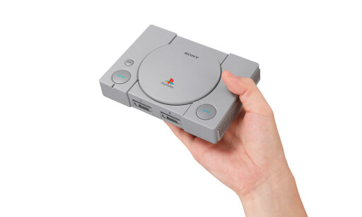 image: Her er PlayStation Classic!