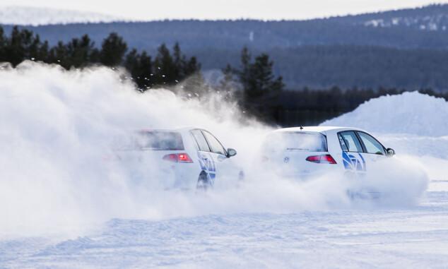 Vinneren er det beste vi har kjørt på is