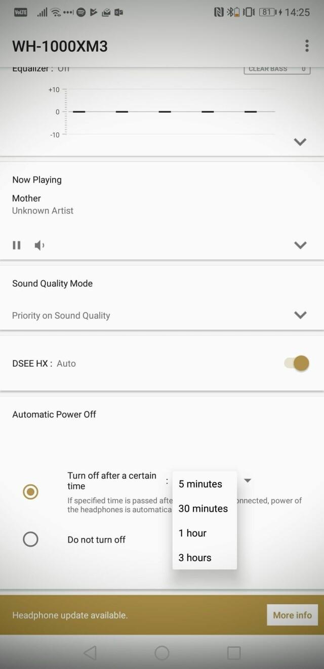 cba60a9d TEST: Sony WH-1000XM3 - – Nesten magisk å spille musikk på lavt volum -  DinSide
