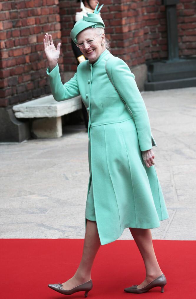 KUNSTNER: Dronning Margrethe av Danmark er bare en av de kongelige som har benyttet seg av hemmelig navn. Foto: NTB Scanpix
