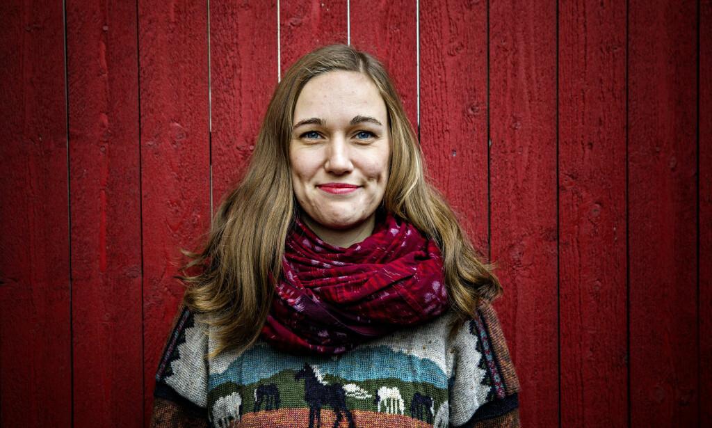 AUF-SJEFEN: I oktober velges Ina Libak til ny AUF-leder. Hun beskrives som strategisk klok og som en dyktig debattant. Foto: Nina Hansen / Dagbladet
