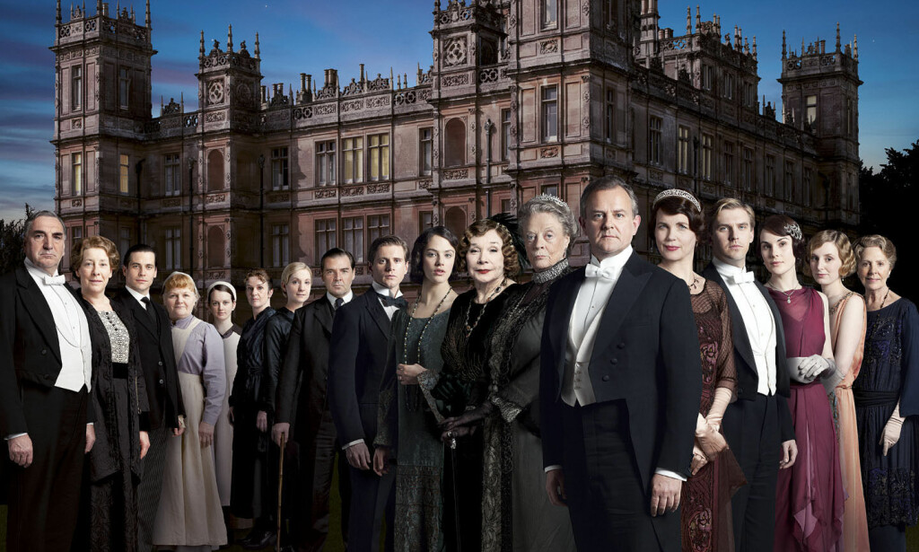 DOWNTON ABBEY: De samme skuespillerne som spilte i serien «Downton Abbey», er med i filmen. Foto: PA Photos / NTB Scanpix