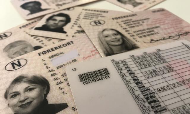 Utestående Førerkort utstedt med feil klasse - Folk fra hele landet har fått QW-94