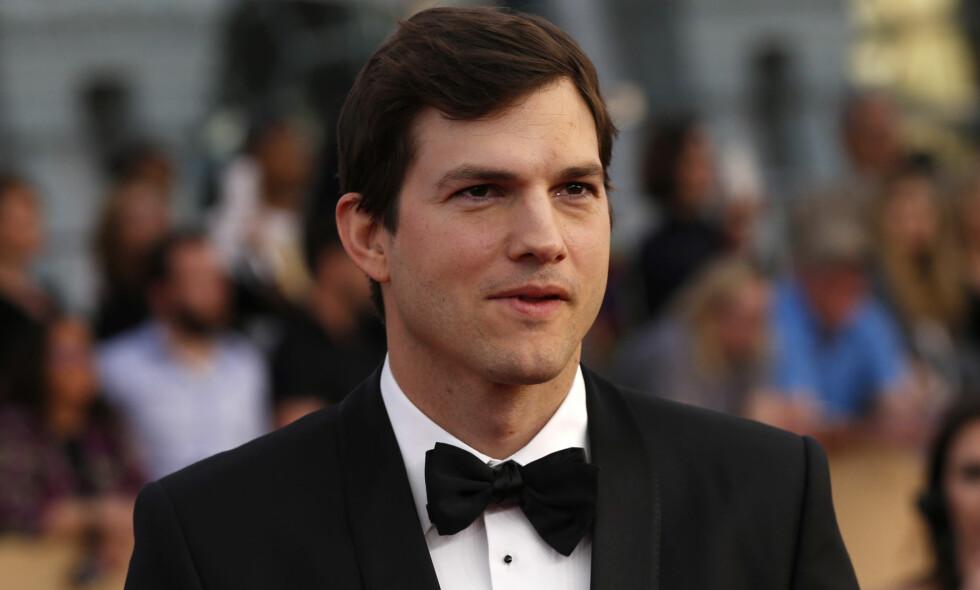 SKAL HA KJØRT PÅ EN UNG MANN: Hollywood-kjekkasen Ashton Kutcher skal ha havnet i en uheldig hendelse tidligere denne uken, men får likevel bare lovord. Foto: NTB scanpix