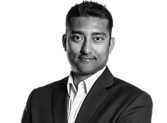 <strong>TOCN:</strong> Styreleder i TOCN, Satheesh Varadharajan. Foto: Estate Media AS