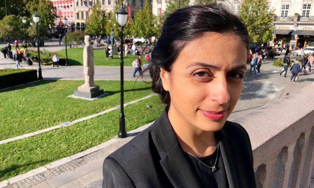 image: Hadia Tajik advarer mot Siv Jensens tipsskatt: - Må være en solstråle hver dag