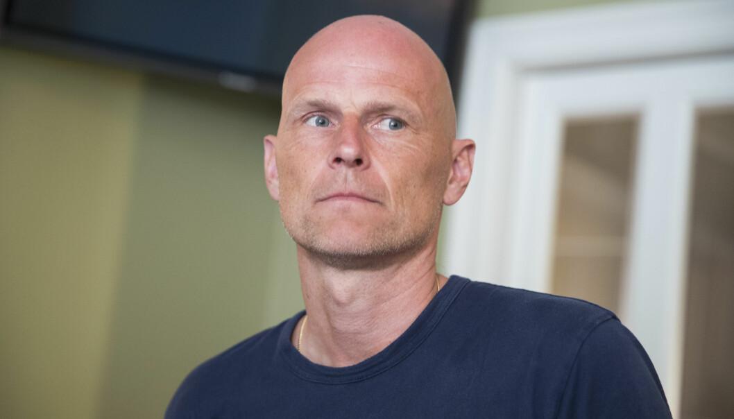 <strong>REAGERER:</strong> Ståle Solbakken tok et saftig oppgjør med hvordan den danske fotballcupen arrangeres.    Foto: Berit Roald / NTB scanpix