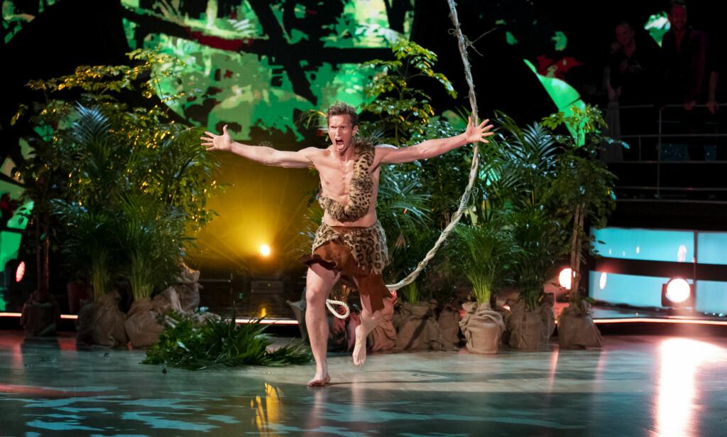 DANSELØVE: Frank Løke er villig til å krysse landegrensen for å fortsette danseeventyret. Foto: TV 2