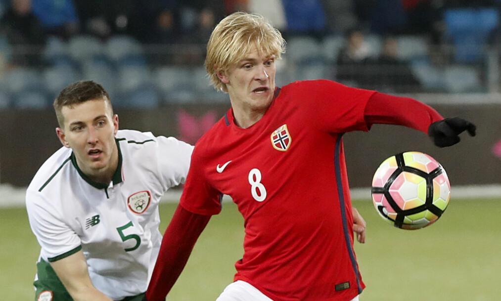 <strong>ITALIA-KLAR:</strong> Etter 2018/2019-sesongen skal Morten Thorsby spille i Sampdoria. Thorsby har skrevet en fireårskontrakt. Foto: Lise Åserud / NTB scanpix