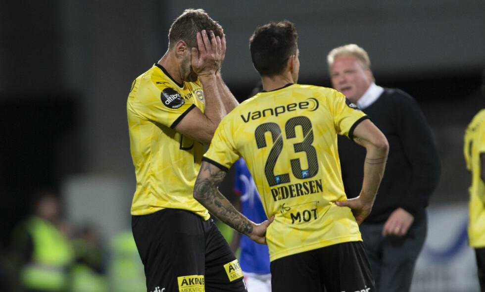 SLITER: LSK og Frode Kippe kjemper for å unngå nedrykk. I kveld skal Kanari-fansen aksjonere ved å være stille de 19 første minuttene mot Trømso. Foto: Geir Olsen / NTB scanpix