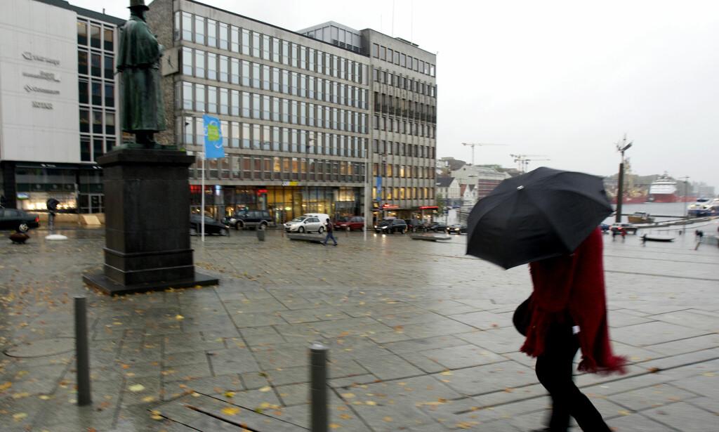 REGN I VENTE: Rogaland og Hordaland må belage seg på mye vann fra himmelen. Foto: Alf Ove Hansen/NTB Scanpix