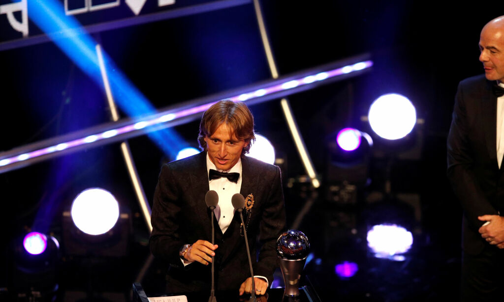 image: Rørt Modric kåret til verdens beste fotballspiller