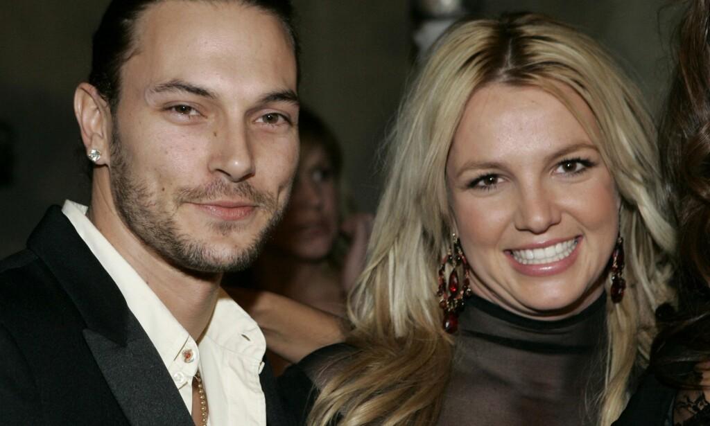 BITTERT: Britney Spears er ikke fornøyd med utfallet av den store pengekrangelen hun og eksen Kevin Federline nå har tatt rettens vei. Kilder hevder at hun egentlig bare ga opp, for å få livet tilbake som normalt. Foto: NTB scanpix