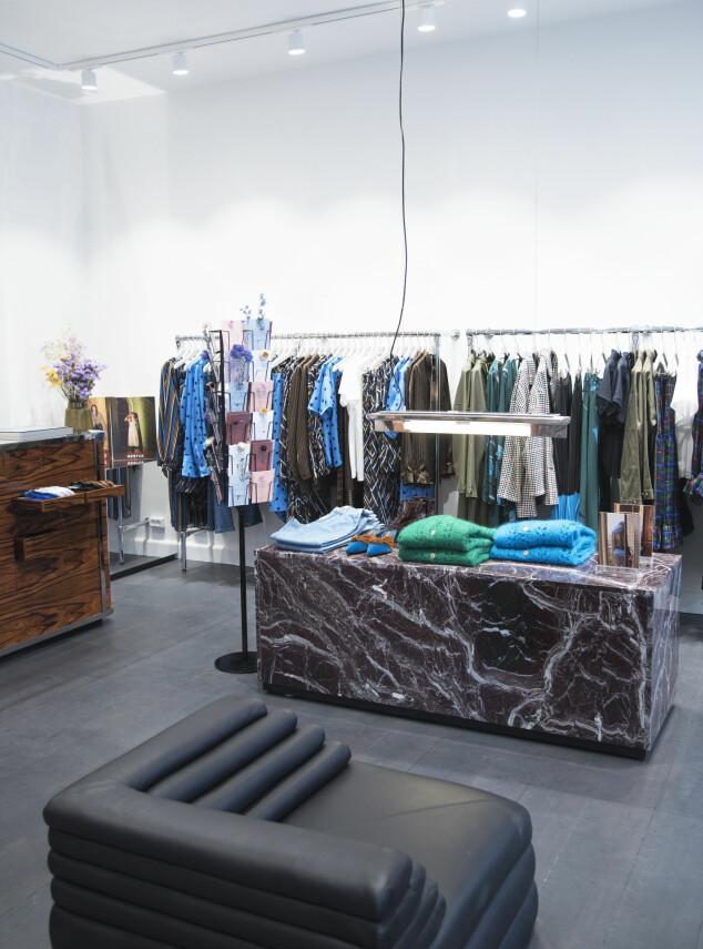 NY BUTIKK: Gestuz har åpnet sin første butikk i København. Foto: Gestuz