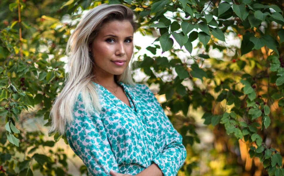 FØLTE SEG UTESTENGT: «Farmen»-deltaker Andrea Badendyck sier hun følte seg utestengt på «Farmen»-gården på grunn av Irene Helle. Foto: TV 2