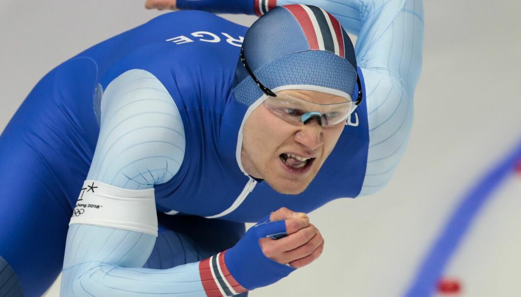 TUNG HELG: Håvard Holmefjord Lorentzen ble grundig slått på utendørsbane i Japan. Foto: Lise Åserud / NTB scanpix