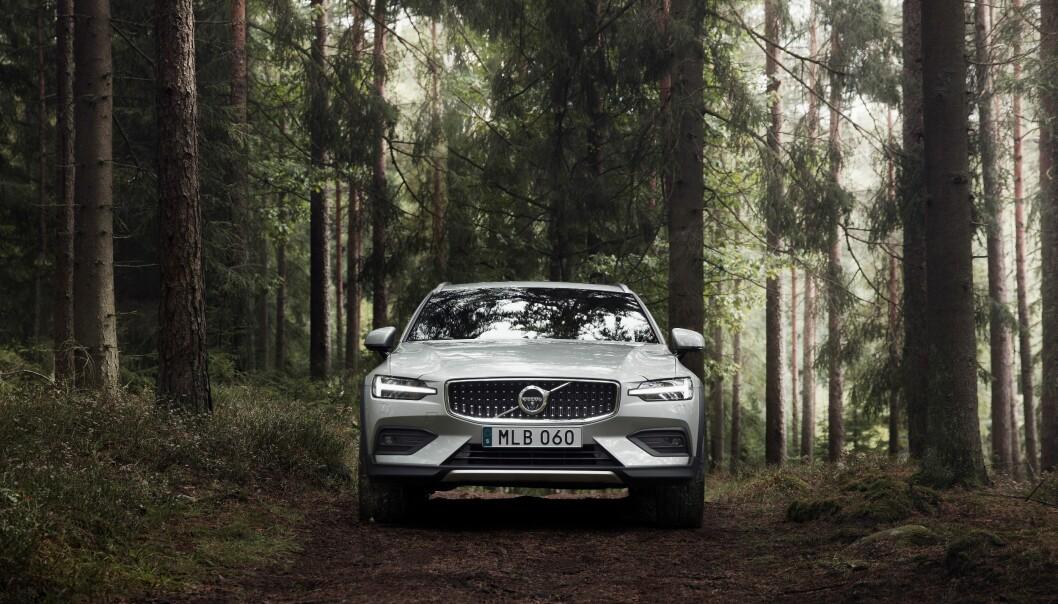 <strong>BARSK:</strong> Nye V60 CC ruver godt i terrenget. Foto: Volvo