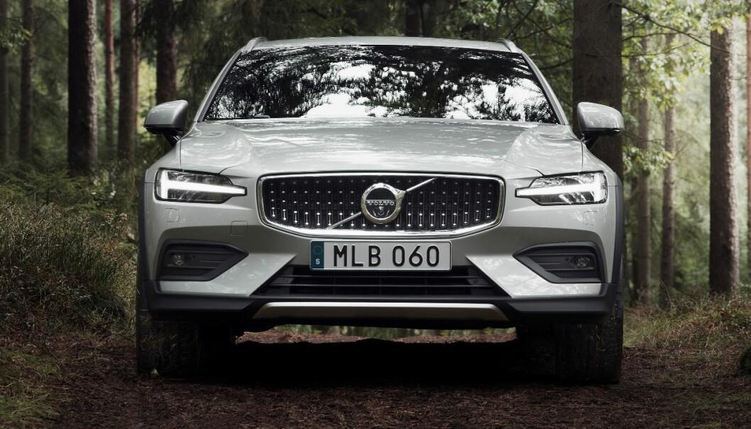 Ny Volvo V60 CC laget for skogen