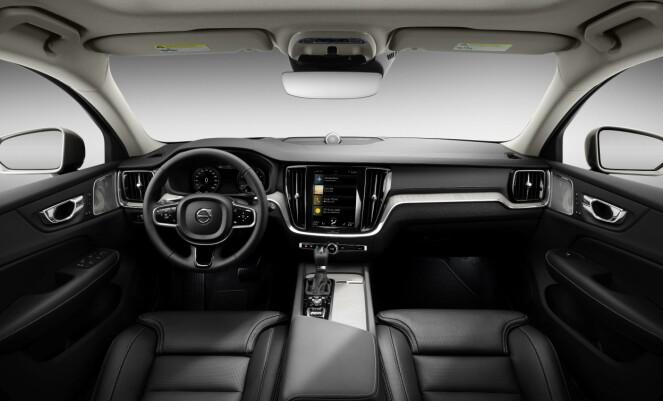 <strong>SOM SØSKNENE:</strong> Inni er den som vi kjenner de alle de siste Volvoene. Foto: Volvo